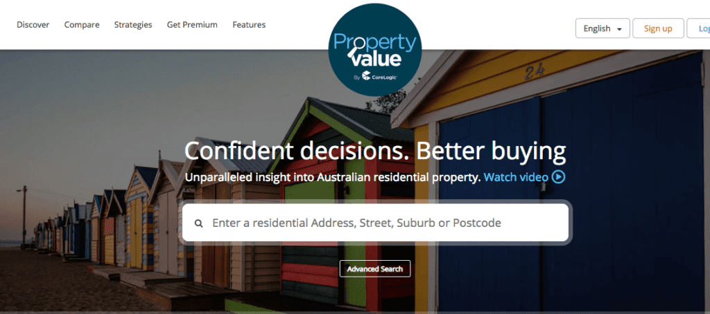 research property value